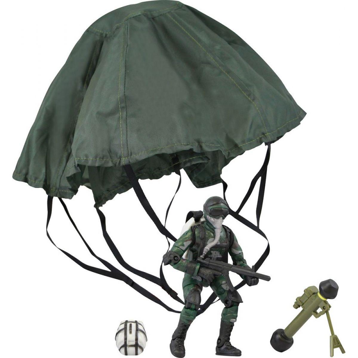 World Peacekeepers Figurka vojáka s doplňky - Voják s padákem