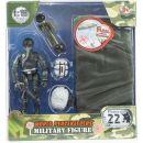 World Peacekeepers Figurka vojáka s doplňky - Voják s padákem 2