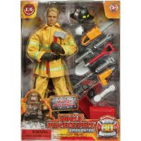 World Peacekeepers Hasič figurka 30,5cm - Search and Rescue 2