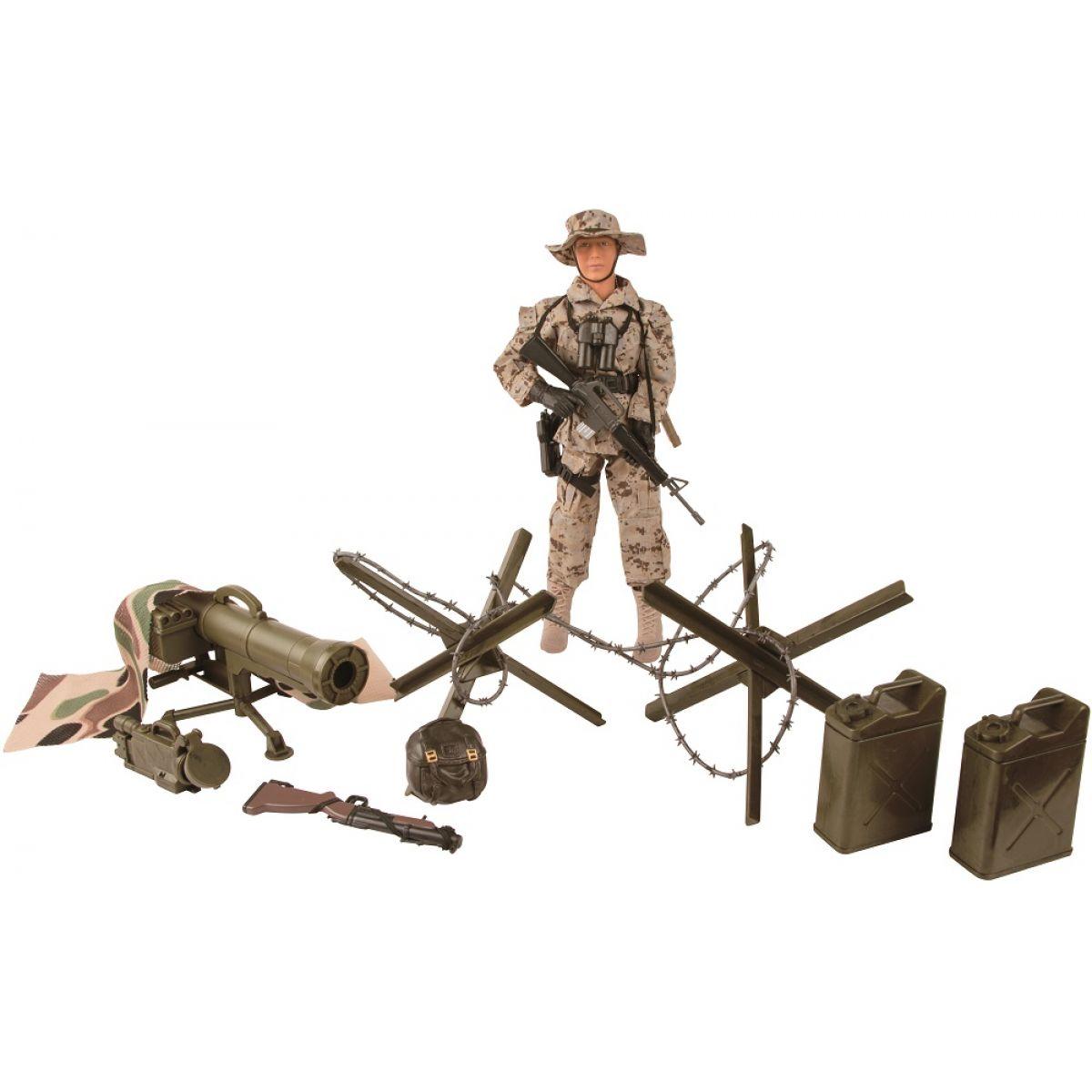 Akční figurky Peacekeepers 1:6 Námořní pěchota 30cm