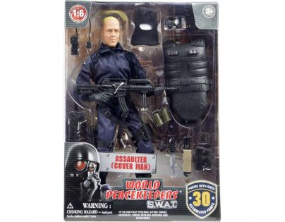 World Peacekeepers S.W.A.T. figurka 30,5 cm - Assaulter Cover Man