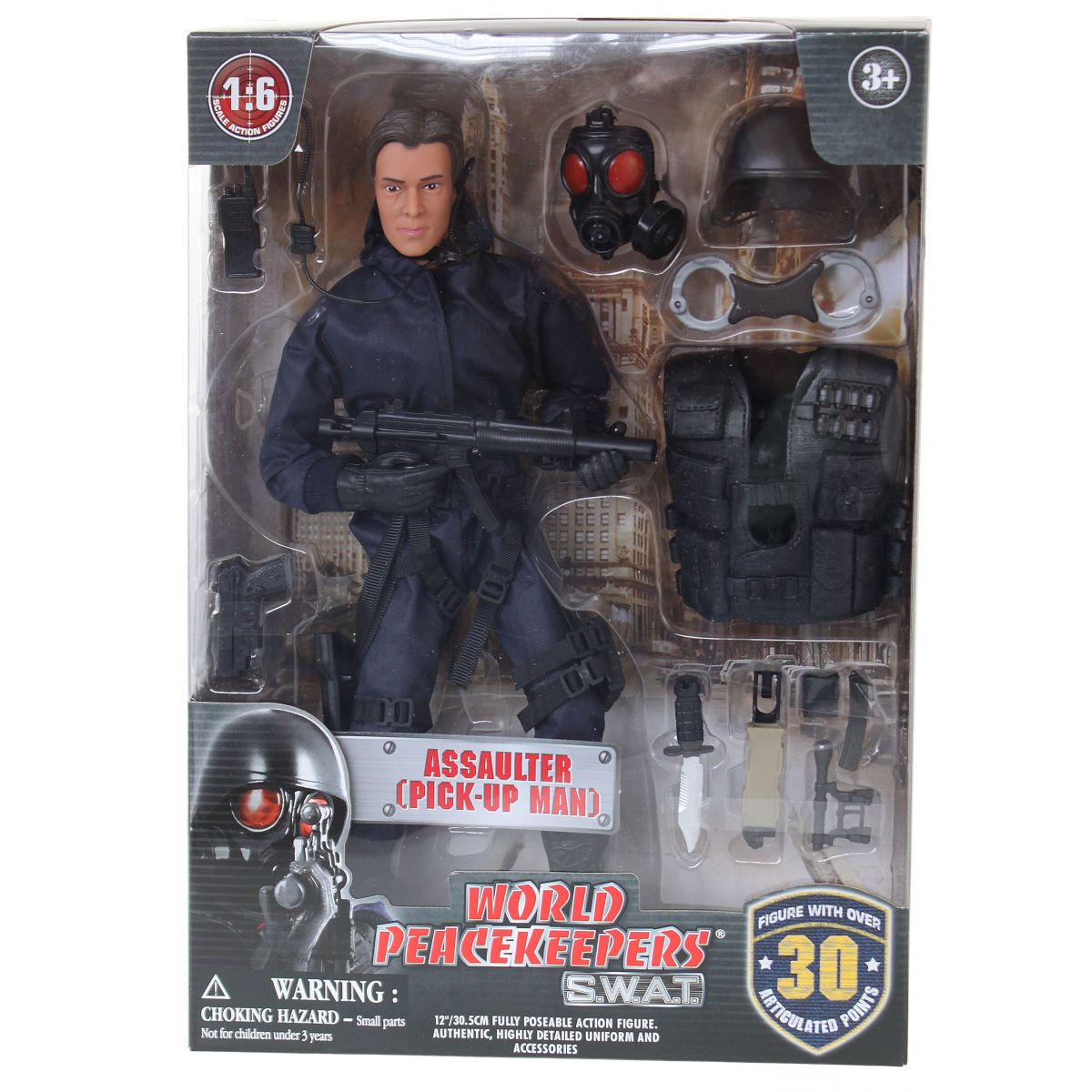 World Peacekeepers S.W.A.T. figurka 305 cm Assaulter Pick-Up Man