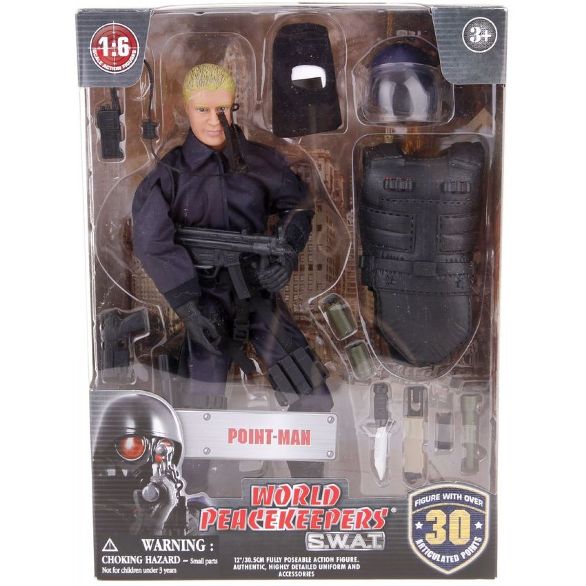 World Peacekeepers S.W.A.T. figurka 30,5cm Point-man