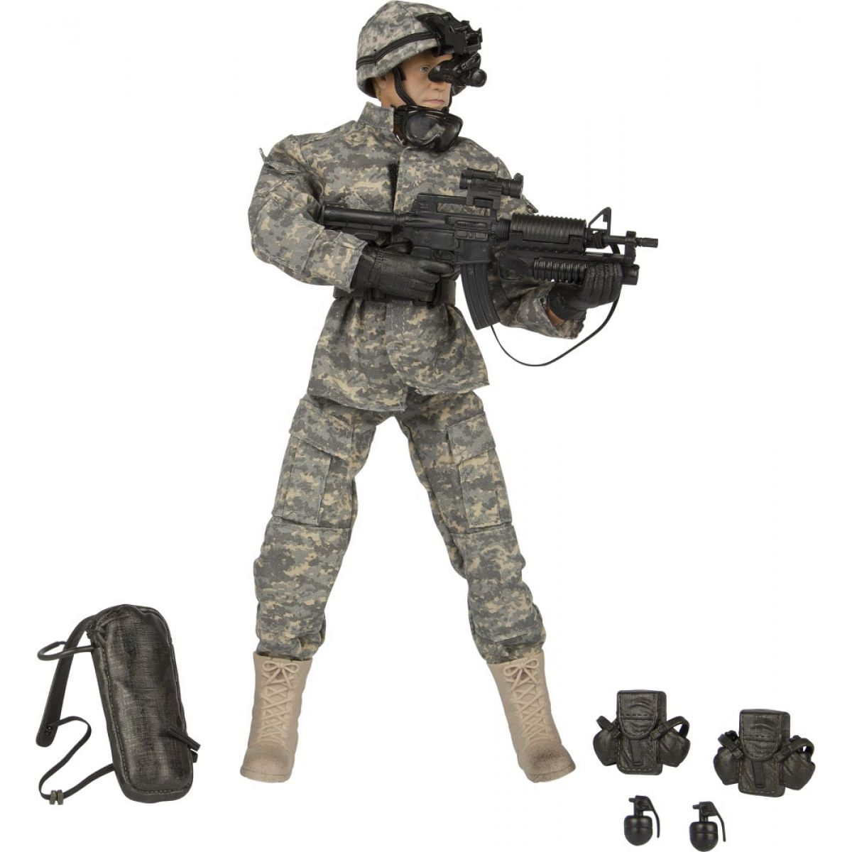 World Peacekeepers Voják figurka 30,5 cm - Airborne Infantryman
