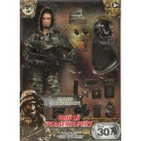 World Peacekeepers Voják figurka 30,5cm - Marine NBC Specialist 2