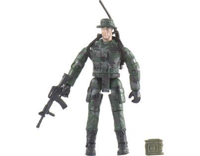 World Peacekeepers Voják figurka 9,5cm - Vysílačka, samopal a krabička