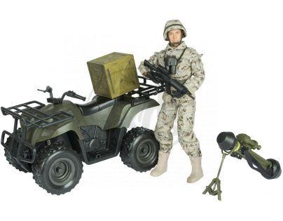 EP Line World Peacekeepers Vojenská čtyřkolka