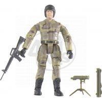 World Peacekeepers Voják figurka 9,5cm - Dalekohled se stojanem