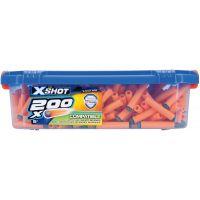 EP Line X-Shot sada 200 nábojů v kufříku