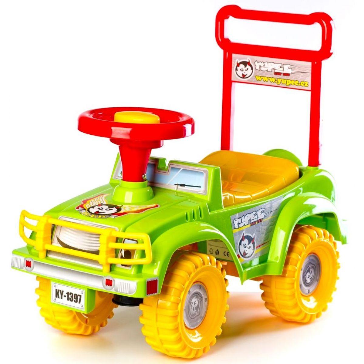 Yupee Odrážedlo auto Jeep Zelené