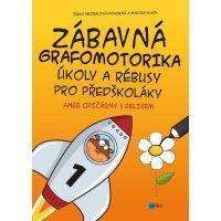 Albatros Zábavná grafomotorika s úkoly a rébusy pro předškoláky