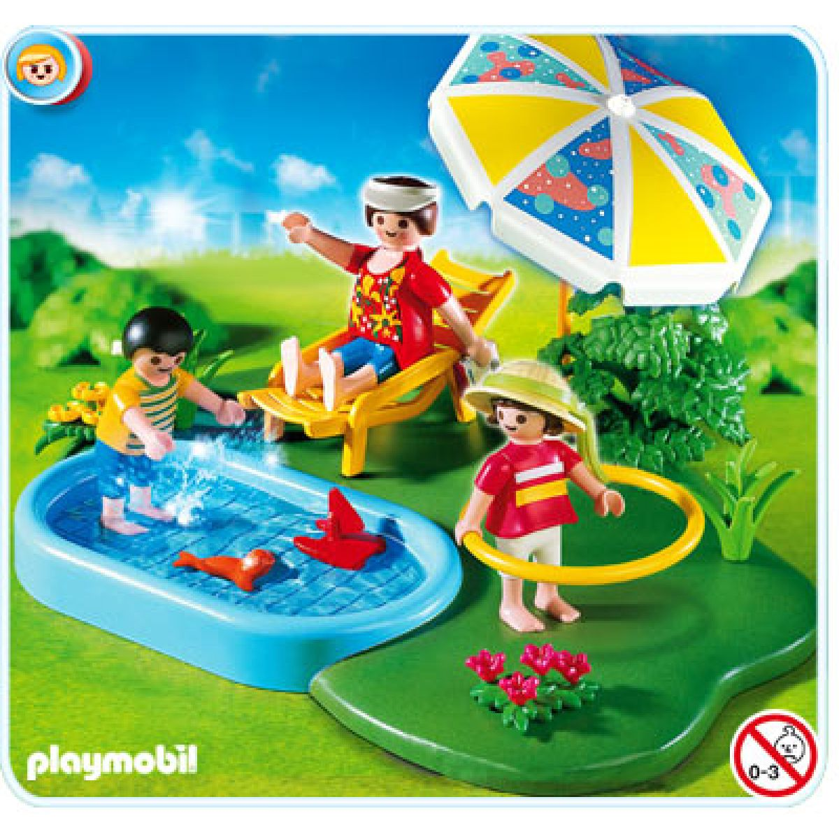 Playmobil 4140 - Zahradní bazén