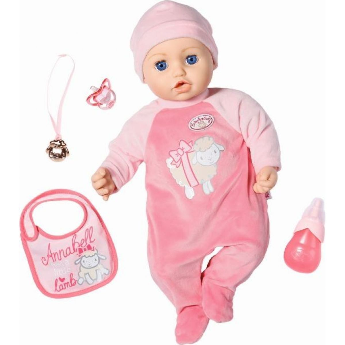 Zapf Creation Baby Annabell Annabell, 43 cm - Poškozený obal