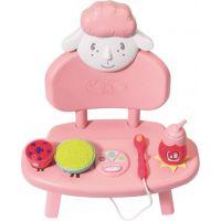Zapf Creation Baby Annabell Jídelní židlička se zvuky - Poškozený obal
