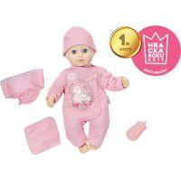 Zapf Creation Baby Annabell Little Baby Fun 36 cm Holčička se zavíracíma očima