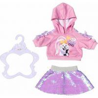 Zapf Creation Baby born Starší sestřička Módní oblečení 43 cm mikina a sukně