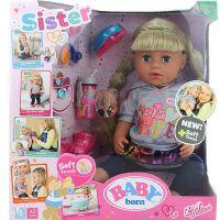 Zapf Creation BABY born Starší sestřička Soft Touch blondýnka, 43 cm 2