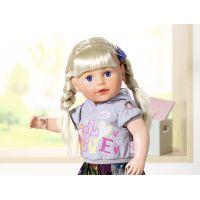 Zapf Creation BABY born Staršie sestrička Soft Touch blondínka, 43 cm 2