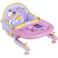 Zapf Creation Baby born® Jídelní židlička na stůl s uchycením