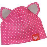 Zapf Dolly Moda Čepice růžová