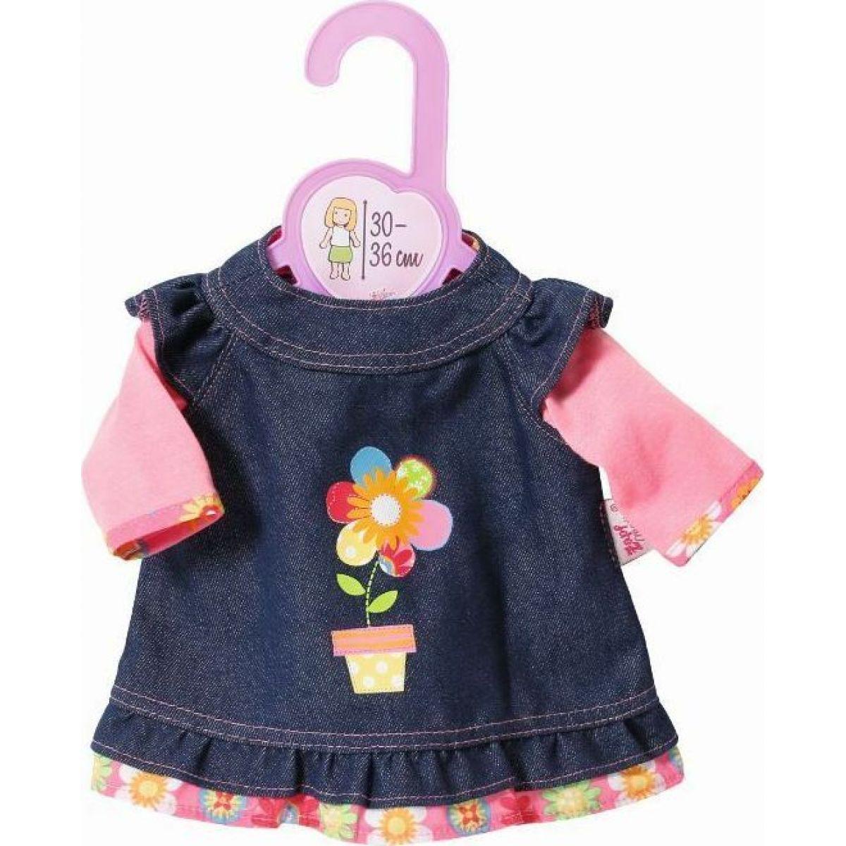 Zapf Creation Dolly Moda Džínové šatičky 30 cm