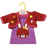 Zapf Dolly Moda Oblečení s pletenou bundičkou 43 cm