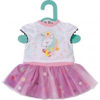 Zapf Creation Dolly Moda Tričko s tutu sukýnkou, 36 cm