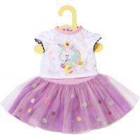 Zapf Creation Dolly Moda Tričko s tutu sukýnkou, 43cm