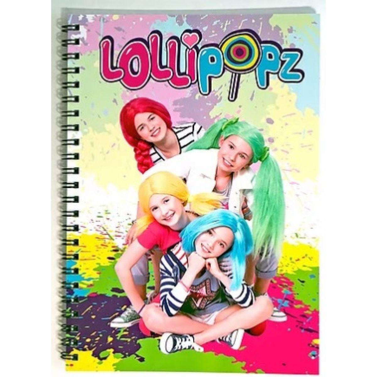 Zápisník Lollipopz velikost A5