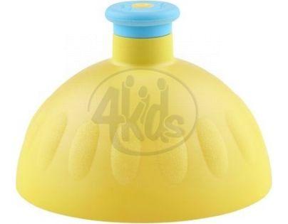 Zdravá lahev Kompletní víčko žluté - zátka modrá