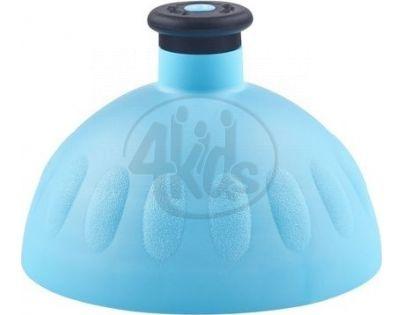 Zdravá lahev Kompletní víčko modré - zátka černá