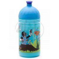 Zdravá lahev Krtek a kalhotky - modrá 0,5l