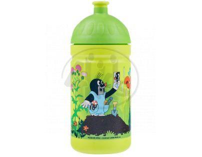 Zdravá lahev Krtek a kalhotky - zelená 0,5l