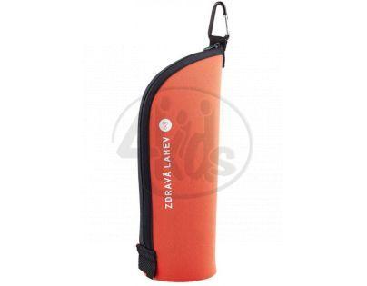 Zdravá lahev Termoobal Cabrio oranžová cihla 0,7l