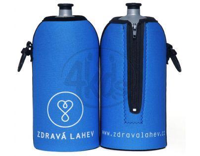 Zdravá lahev Termoobal modrý 0,5l