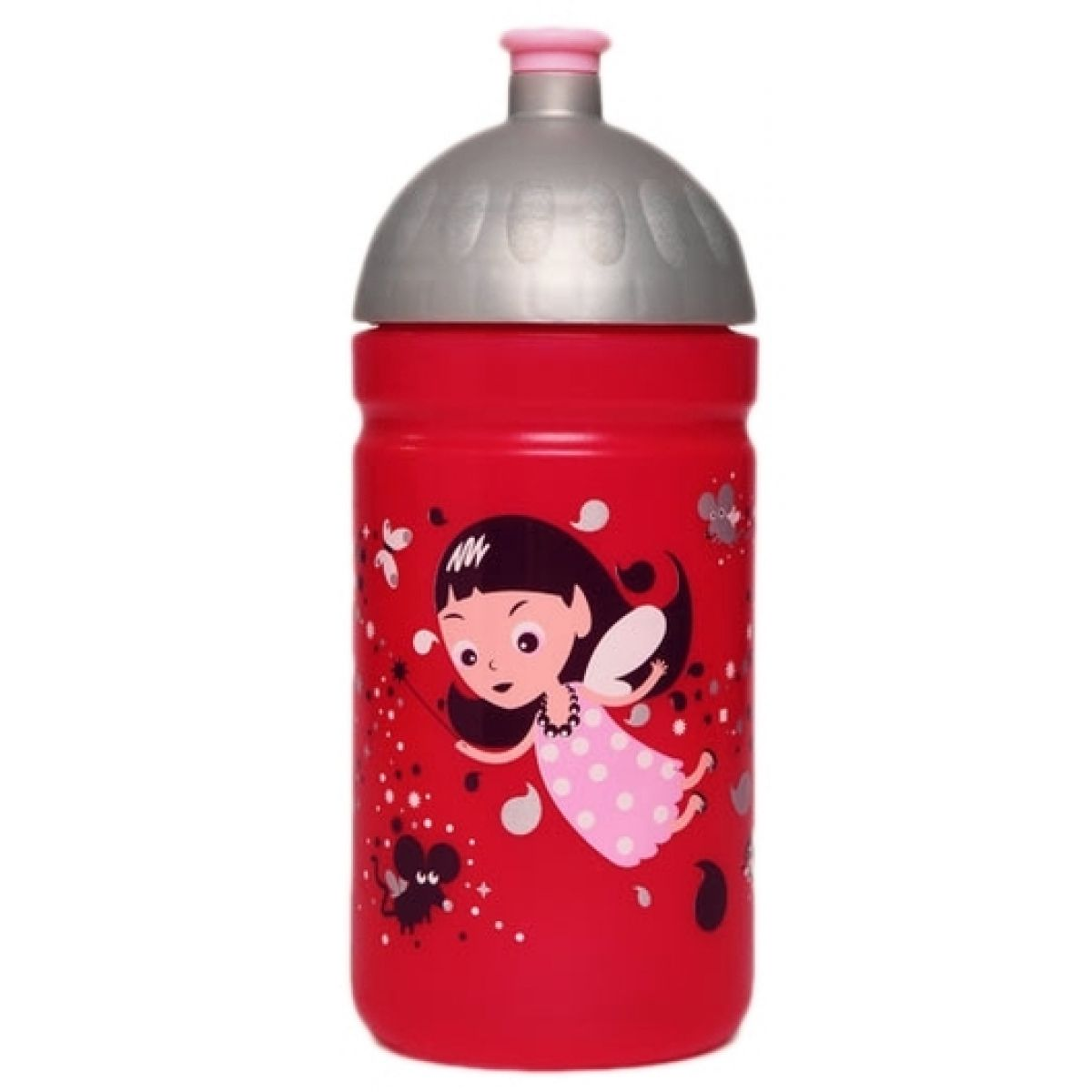Zdravá lahev Víla 0,5l Červená