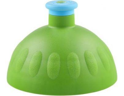 Zdravá lahev Kompletní víčko zelené - zátka modrá