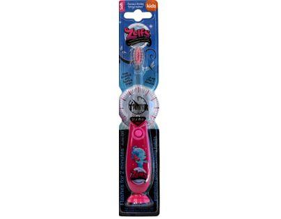Zelfs blikající zubní kartáček růžový