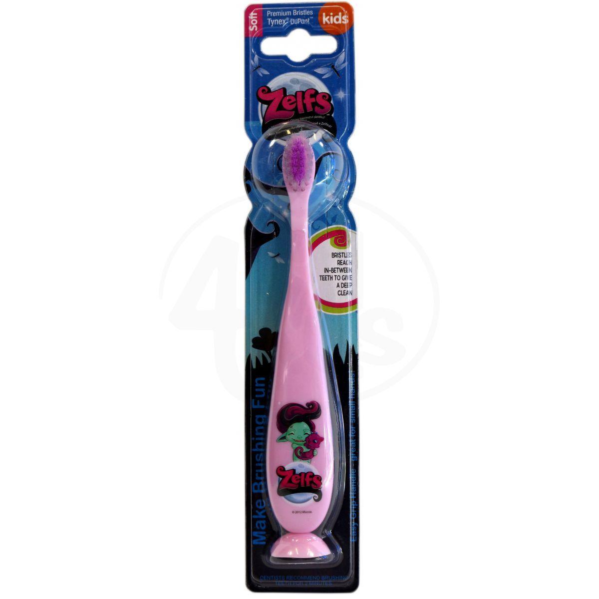 Zelfs Zubní kartáček světle růžová