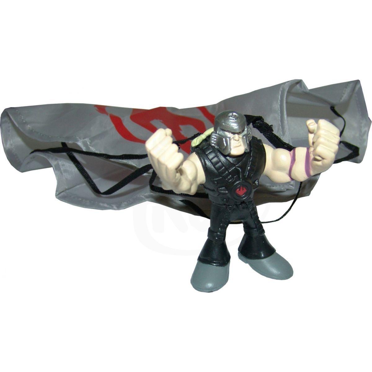 EP Line Želvy Ninja TMNT mini mutants sada s padákem a figurkou - Mike a Elite Foot