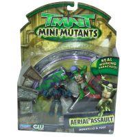 EP Line Želvy Ninja TMNT mini mutants sada s padákem a figurkou 4