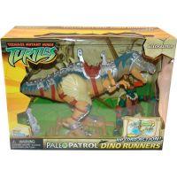 Želvy Ninja TMNT Super Dino 30 cm + figurka - Allosaurus - Poškozený obal 2