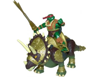 EP Line Želvy Ninja TMNT Super Dino 30 cm a figurka Triceratops