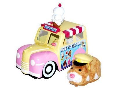 ZhuZhu Pets Zmrzlinářské auto