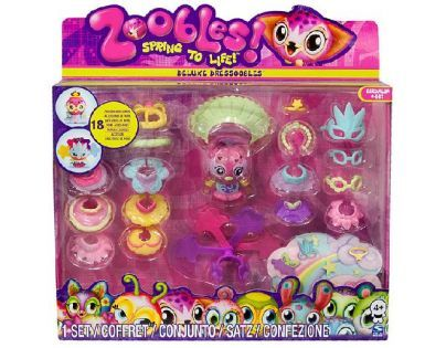 Zoobles 13242 - Zoobles s oblečením deluxe 460