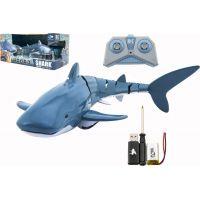Žralok RC plast 35 cm na dálkové ovládání a dobíjecí pack