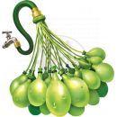 Zuru Bunch O Balloons Vodní balónky 100ks - Růžová, bílá, fialová 4