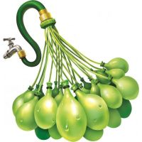 Zuru Bunch O Balloons Vodní balónky 100ks - Oranžová, modrá, zelená 4