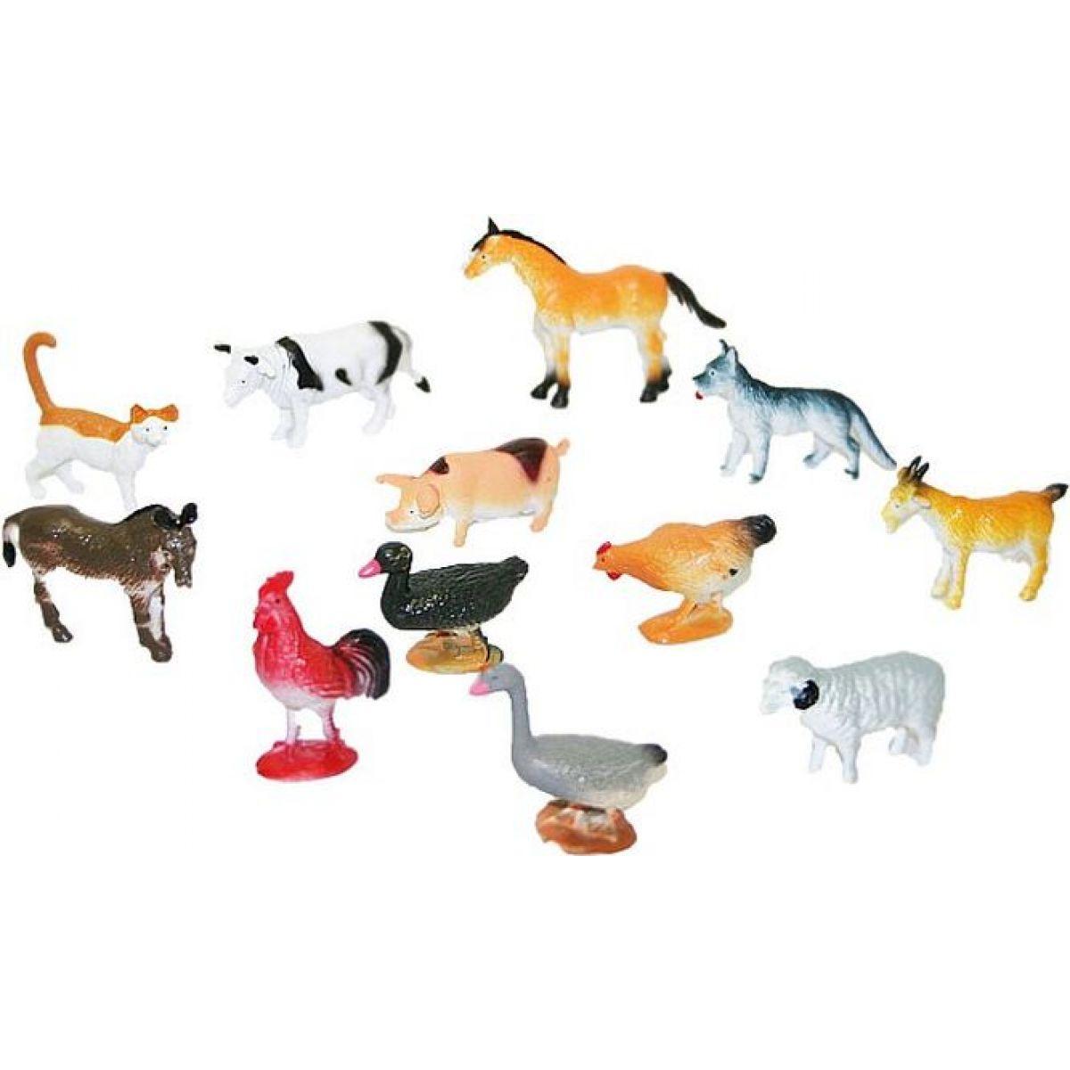 Rappa Zvířata domácí 12 ks