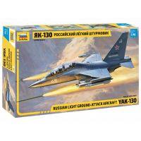 Zvezda Model Kit letadlo YAK-130 Russian trainer fighter 1:48